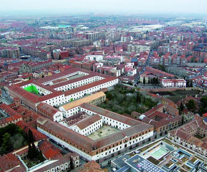 Vista área de los cuarteles