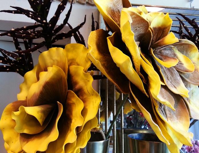 Flores de Foam Gigantes Amarillas: COLECCIONES de Casa Nativa