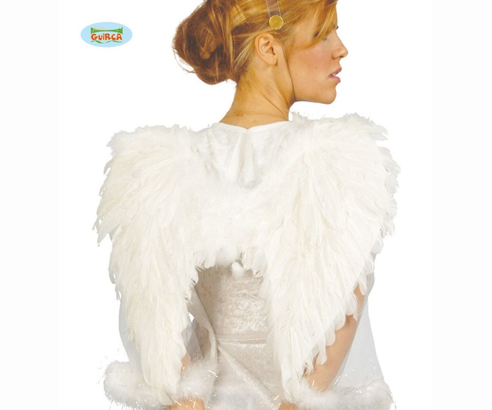 Alas de ángel plumas 50cm.