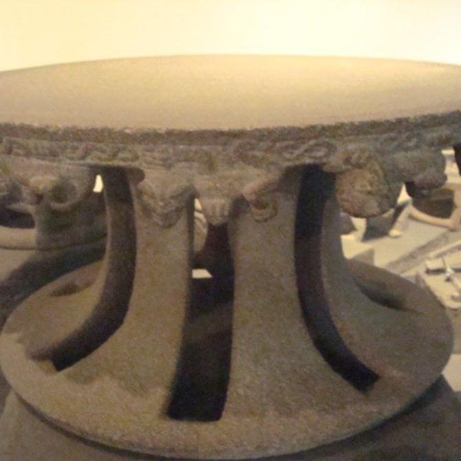 Así eran las primeras mesas