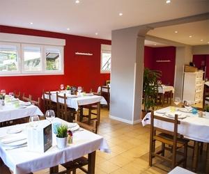 Interior de nuestro restaurante de cocina asturiana en Castrillón