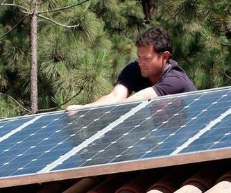 Energía solar: Servicios de AGENER CANARIAS