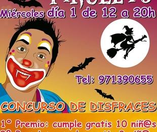 Fiesta infantil de Halloween en Gran Piruleto Park