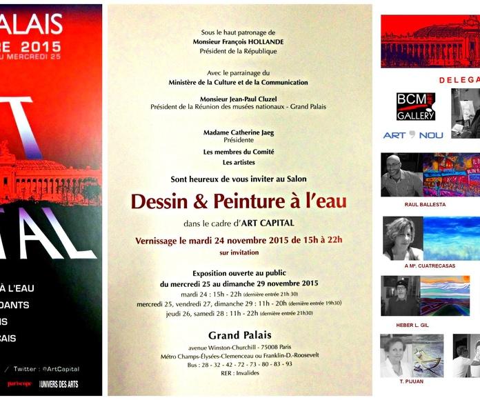 Art en Capital 2015: Exposiciones y artistas  de BCM Art Gallery