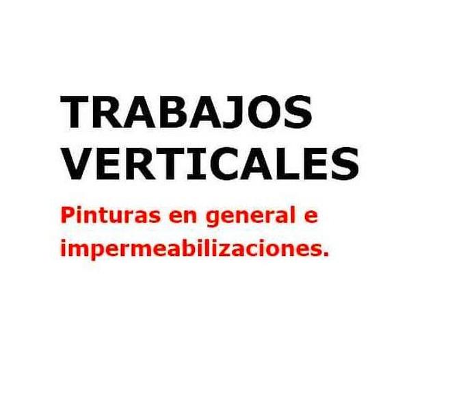 Trabajos verticales: Servicios de Brillante Trabajos Verticales