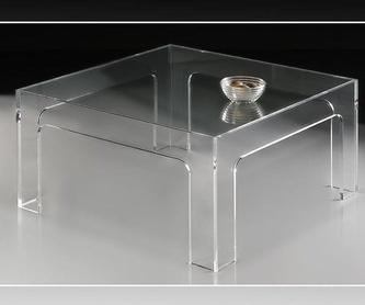 Estanterías, Librerias  y sillas en transparente: Catálogo de A. Dumont-Fredo