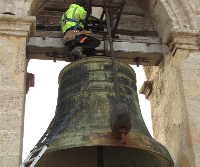 reparación y mantenimiento de campanas