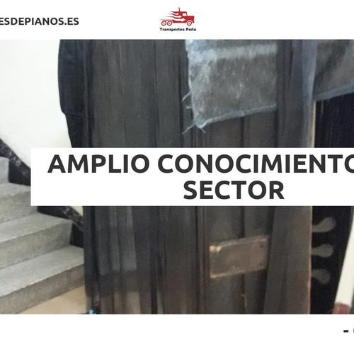 Traslado de pianos en Sabadell | Transportes Peña