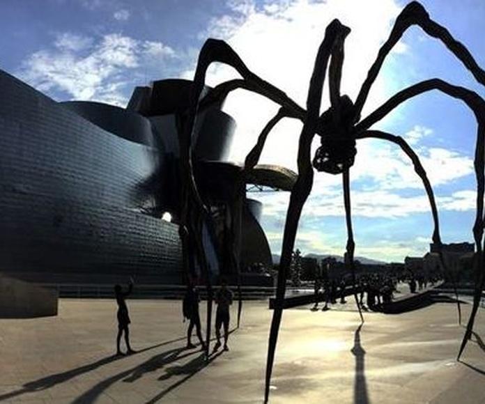 El Museo Guggenheim Bilbao. Foto: Daniel Rodriguez Fuentes