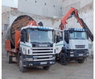 Transportes: Nuestros servicios de Hijos de Miguel Serra