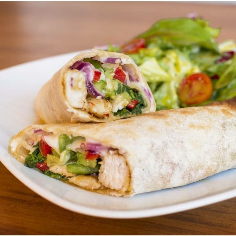 Wraps: Nuestra carta de Restaurante de Comida Saludable Jengibre Fuengirola