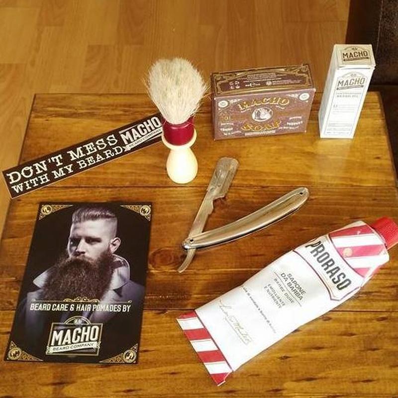 Productos marca Macho: Servicios y productos de Fabre Barber Shop