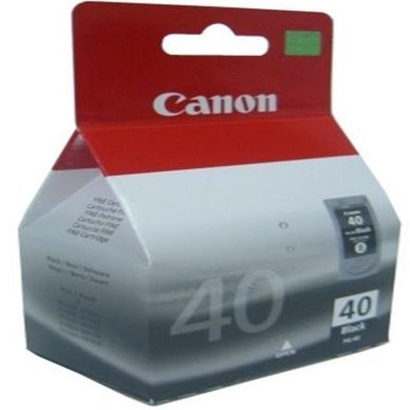 CANON Cartucho PG-40 Negro IP2600/MP220/MX300 : Productos y Servicios de Stylepc