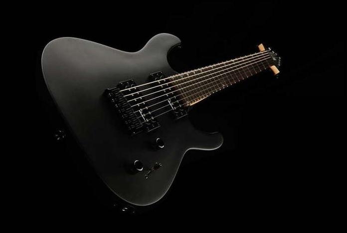Jackson JS22-7 Dinky SB guitarra heavy metal 7 cuerdas