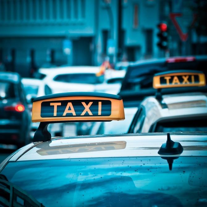Las mamparas de seguridad en los taxis