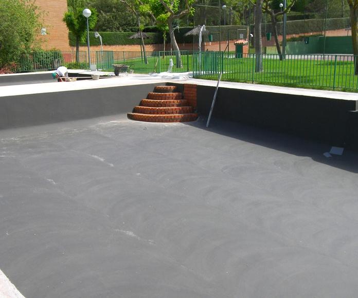 Reforma de piscina en Las Rozas