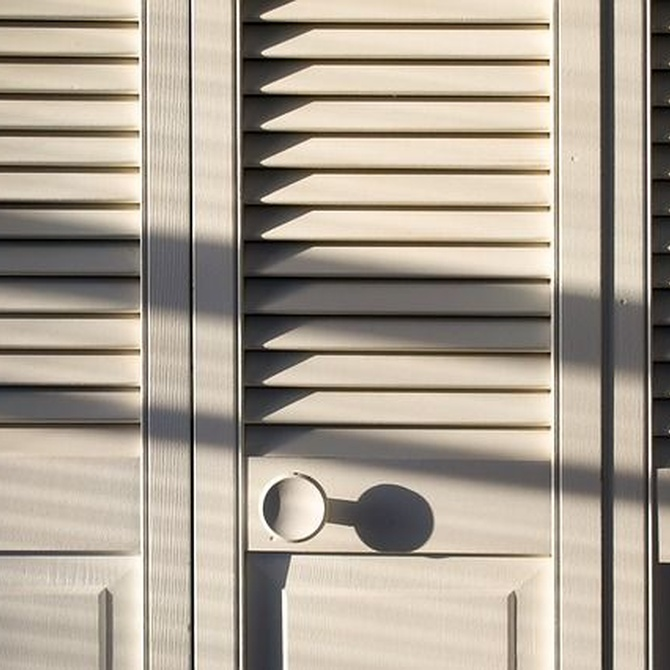 Los tipos de puertas de un armario empotrado