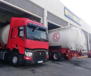 Lavado camiones frigoríficos y cisternas alimentarias
