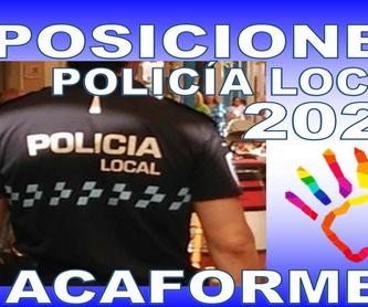 Oposiciones: Guardia Civil: Formación de Acaforme