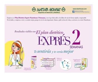 Plan triple acción: Dietética y nutrición de NaturHouse Moratalaz-Pavones