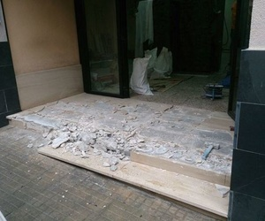 Reforma de entrada al edificio