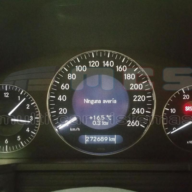 Fecha inspección principal y control de emisiones solucionado OK Mercedes