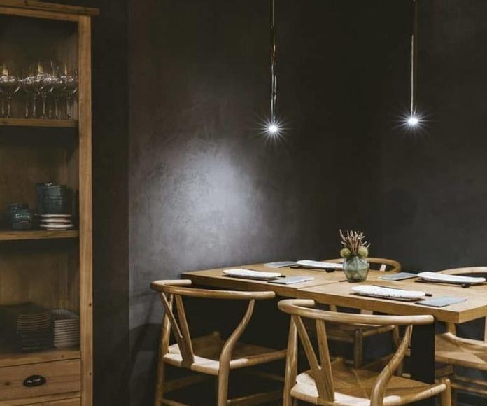 Reforma y diseño de restaurante peruano japonés en Barcelona: proyectos de interiorismo de Paglialonga studio interiorismo