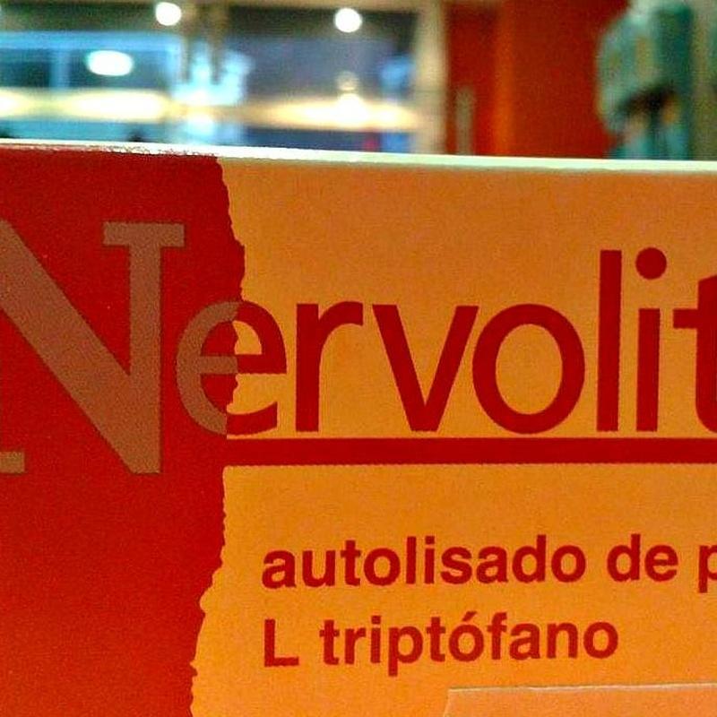 Nervolit autolisado de pescado L triptófano : Cursos y productos de Racó Esoteric Font de mi Salut