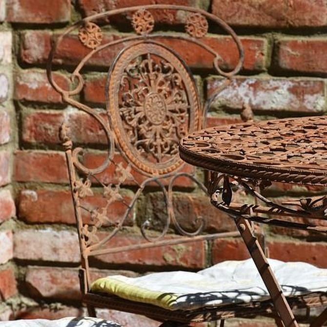 Ventajas de los muebles de hierro forjado