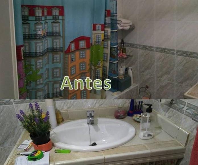 Estado inicial reforma cuarto de baño