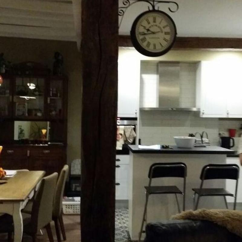Reforma salon cocina