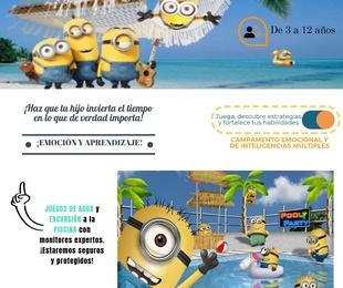 CAMPAMENTO DE VERANO MENUDA TRIBU!!!  3- 12 AÑOS