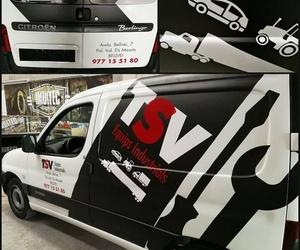 Rotulamos tu coche de empresa en Tarragona