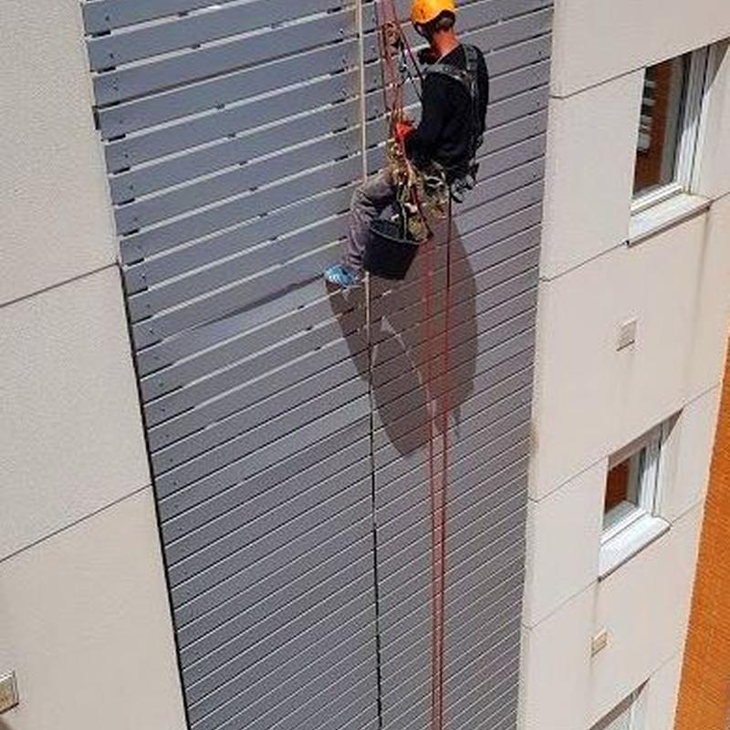 Trabajos en altura, cubiertas y fachadas: Trabajos de Multiasistencia Huete