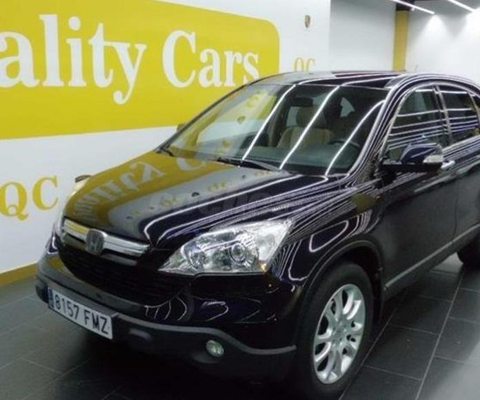 Honda CRV 2.2 iCTDi Luxury 5p.: Amplio stock de Quality Luxe Cars