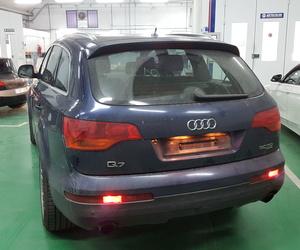 Reparación de un vehículo