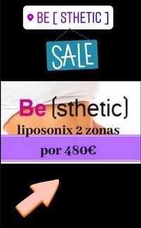 Nueva promo: 2 zonas de Liposonix por 480 euros