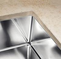 Fregaderos Blanco de acero inoxidable modelo Blanco Claron 400-U