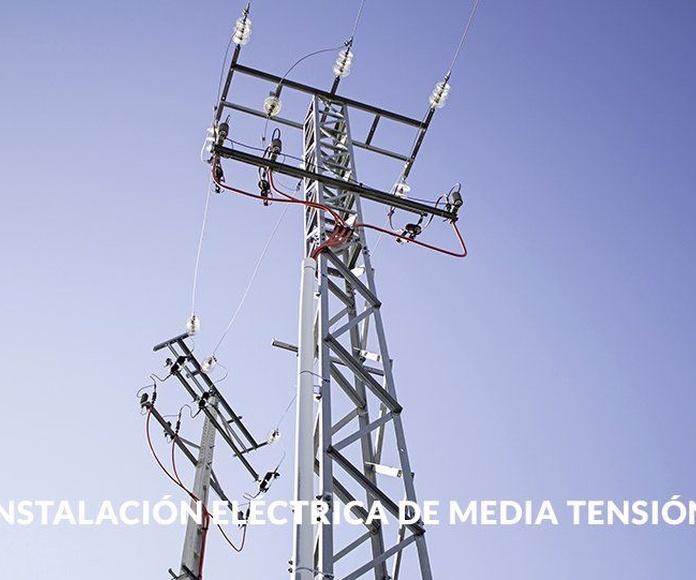 Instalación y mantenimiento media tensión: Servicios de Vrp Electric