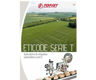 Impresoras Serie HR: Catálogo de Ibertopjet