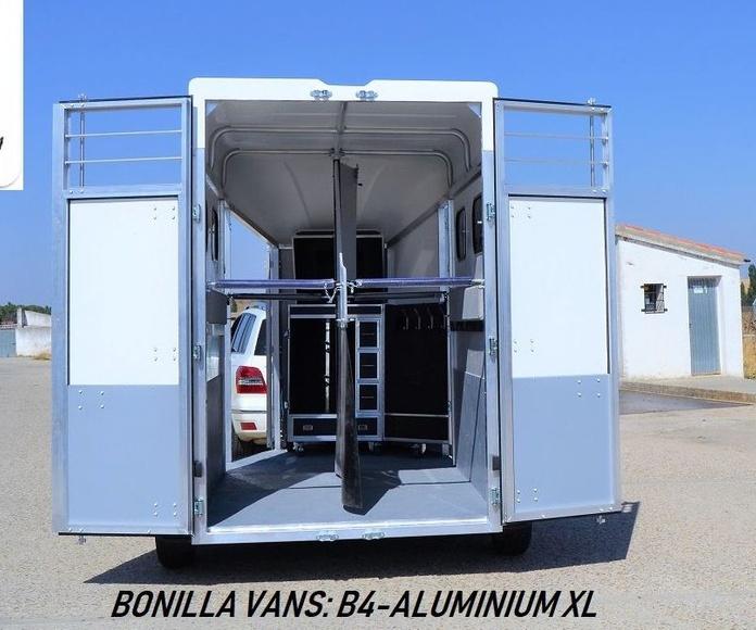 REMOLQUE PARA CABALLOS, BONILLA VANS B4-ALUMINIUM XL