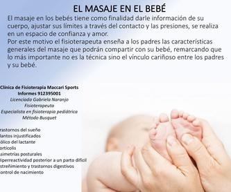 Fisioterapia pediátrica: Especialidades de Clínica Fisioterapia Maccari Sport