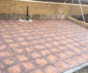 Patio exterior para reformar en Salamanca