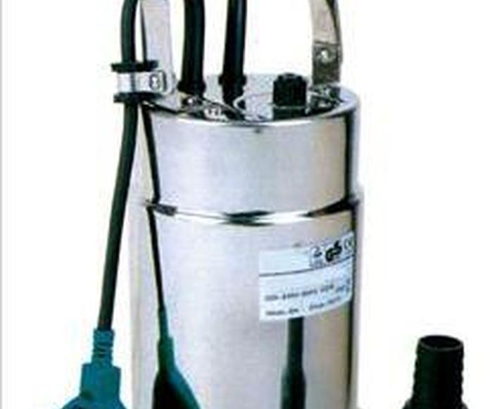 Bombas: Productos de Saneamientos Sánchez Caravaca