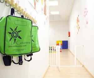 Acceso al aula Escuela Infantil La Cotorrera