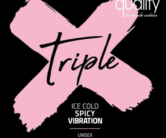 Gel vibrador Triple X