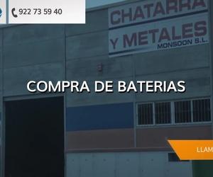 Compra de chatarra en Las Palmas | Chatarras y Metales Monsoon