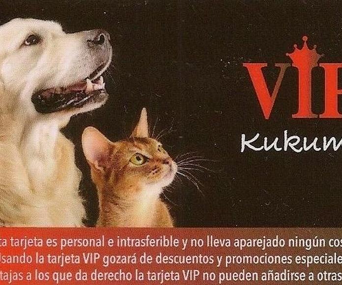 Nueva tarjeta para clientes VIP