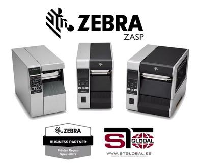 STGlobal nombrado Zebra Authorised Service - ZASP -