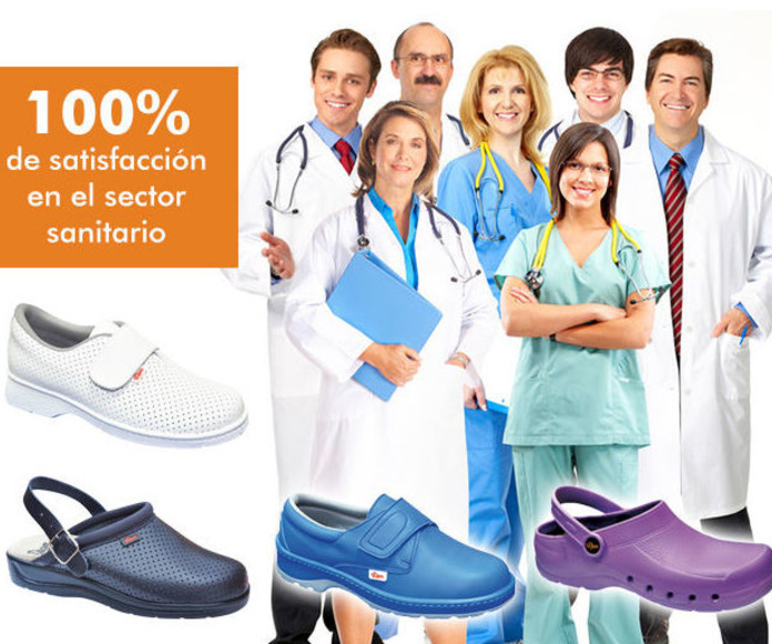 Calzado para profesionales sanitarios Dian